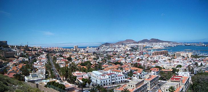Panorama di Las Palmas